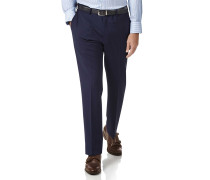 Slim Fit Performance Anzug Hose in Königsblau