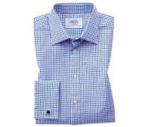 Slim Fit Hemd in Blau