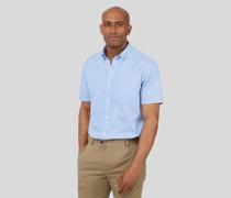 Vorgewaschenes Oxford-Kurzarmhemd