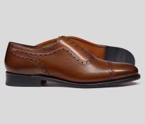 Goodyear-rahmengenähte Budapester Oxford-Schuhe -