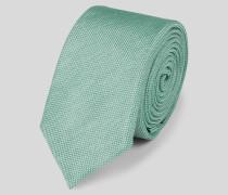 Krawatte aus Seide Hellgrün