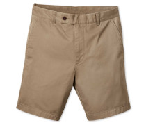 Chino-Shorts in Gelbbraun