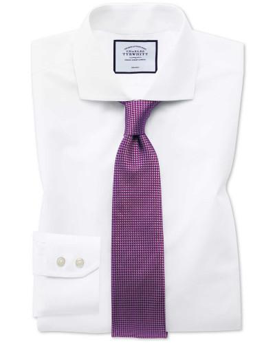 Bügelfreies Slim Fit Popeline-Hemd