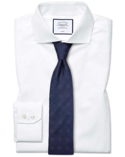 Bügelfreies Classic Fit Popeline-Hemd