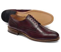 Budapester Derby-Schuhe mit Ösen