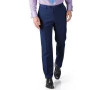 Slim Fit Business Anzug Hose aus Twill