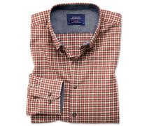Slim Fit Hemd aus weicher Baumwolle