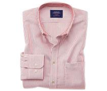 Extra Slim Fit Oxfordhemd in DunkelOrange