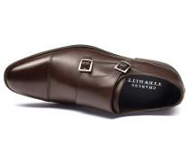 Silverwell Schnallenschuh mit Zehenkappe in Braun