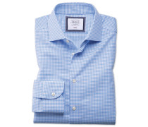 Extra Slim Fit Business-Casual Hemd in Himmelblau