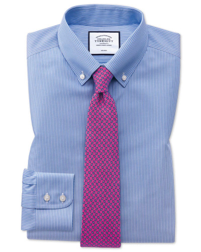 Extra Slim Fit Button-down-Hemd