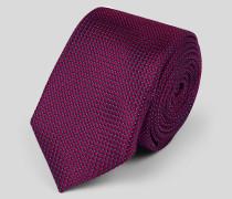 Schmale Krawatte aus Seide