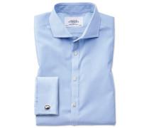 Extra Slim Fit Hemd mit Haifischkragen
