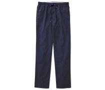 Pyjama Hose aus gebürsteter Baumwoll in MarineBlau