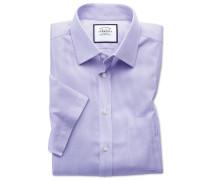 Bügelfreies Classic Fit Kurzarmhemd aus Popeline