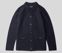 Jacke aus Wollfilz Dunkles