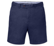 Slim Fit Chino Shorts in Blau