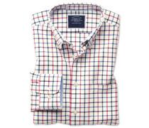 Classic Fit Oxfordhemd mit Button-down Kragen