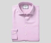 Strukturiertes bügelfreies Hemd