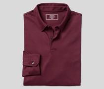 Smartes langärmeliges Jersey-Polo -
