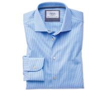 Slim Fit Business-Casual Hemd in himmellBlau