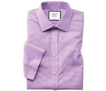 Bügelfreies Slim Fit Natural Cool Kurzarmhemd