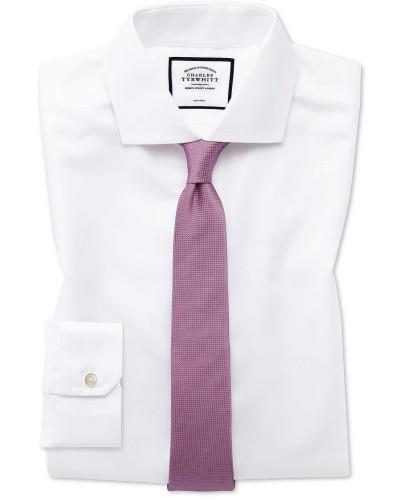 Bügelfreies Super Slim Fit Twill-Hemd