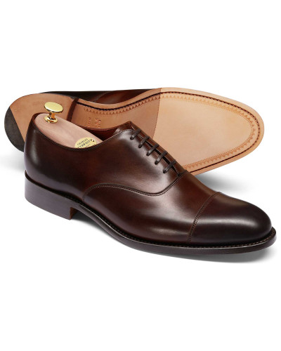 Charles Tyrwhitt Herren Oxford-Schuhe in Mahagonibraun (in England Spielraum Gut Verkaufen Auslass Niedriger Versand Bestbewertet Echt 28j2x