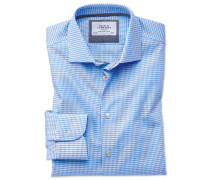 Classic Fit Business-Casual Hemd in Himmelblau