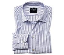 Classic Fit Hemd aus Strukturgewebe