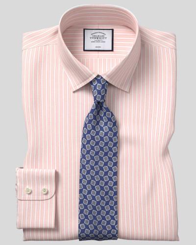 Bügelfreies Popeline-Hemd