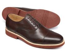 Oxford-Schuh in Braun