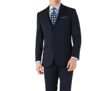 Slim Fit Business Anzug Sakko aus Hairline