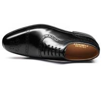 Parker Budapester Oxford-Schuh mit Zehenkappe