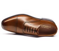 Bennett Oxford-Schuh mit Zehenkappe in Gelbbraun