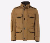 Field Jacket aus Oxford, Passform Slim