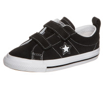 One Star 2V OX Sneaker Kleinkinder Schwarz