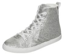 Strada Glitter JR Sneaker Silber