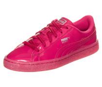 Basket Patent Iced Glitter Sneaker Pink