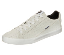 Cross Court Suede Sneaker Grau