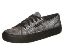 2750 Plisselamew Sneaker Silber