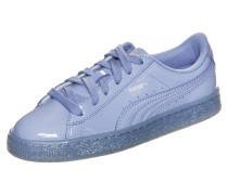 Basket Patent Iced Glitter Sneaker Lila
