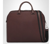DUFFEL BAG AUS CANVAS IN DARK BAROLO