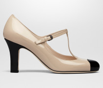 BETTE PUMPS AUS KALBSLACKLEDER IN MINK