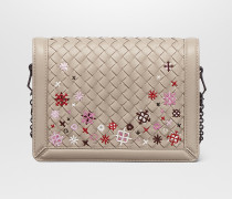 MEADOW FLOWER MINI MONTEBELLO MIT INTRECCIATO MOTIV IN MINK