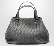 GROSSE CESTA BAG AUS INTRECCIATO NAPPA IN LIGHT GREY