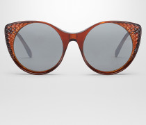 SONNENBRILLE AUS AZETAT IN BROWN