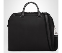 DUFFEL BAG AUS CANVAS IN NERO