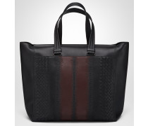 FLY TOTE AUS NAPPA IN NERO