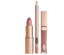 The Uptown Girl Lip Kit - Lipstick & Lipgloss